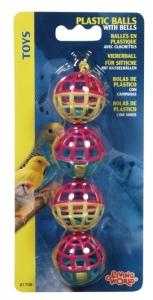 Hagen Living World Пластмасова играчка за птици - Топки