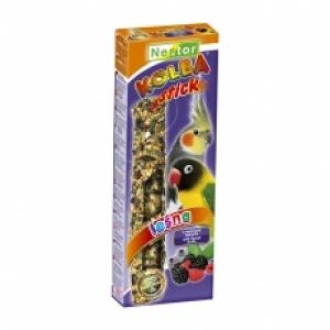Nestor Крекер за средни папагали 2в1 с яйца и плодове