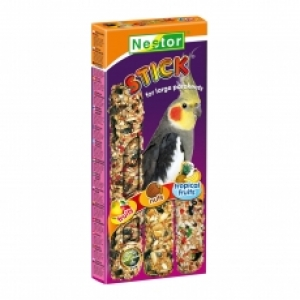 Nestor Крекер за средни папагали 3в1 с плодове и ядки - 3бр.