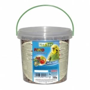 Nestor Храна за папагали с плодове - 1000 мл.
