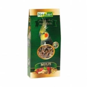 Nestor Премиум храна за средни папагали - 500 мл.