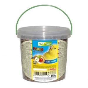 Nestor Храна за канари с плодове - 1000 мл.