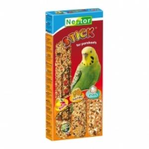 Nestor Крекер за папагали 3в1 с плодове, мед и миди - 3бр.