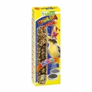 Nestor Крекер за канари с макови и нигерски семена - 2 бр.