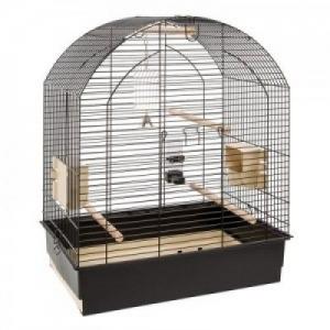 Ferplast - CAGE GRETA BLACK - Клетка за птици - размер 69,5 х 44,5 х 84 см