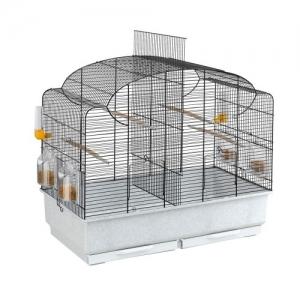 Ferplast - CAGE CANTO BLACK Клетка за птици - размер 71 х 38 х 60,5 см