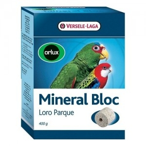 Versele-Laga - Mineral Block Хранителна добавка за големи папагали - опаковка 400 г