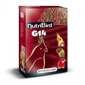 Versele-Laga - NUTRIBIRD G14 Tropical Храна за средни папагали - опаковка 1 кг.