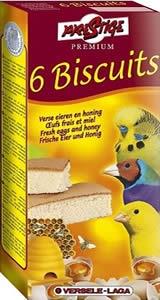 Versele-Laga - Biscuit Bird Honey 6 бр - кексчета за финки