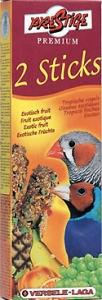 Versele-Laga - Sticks Finches Exotic Fruit Деликатесна допълнителна храна за финки - опаковка 60 г (2 бр. х 30 г)
