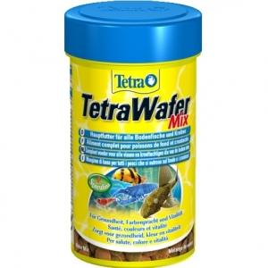 Tetra TetraWafer Mix Храна за рибки и ракообразни, хранещи се в долните слоеве на водата