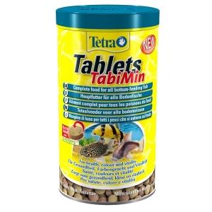 Tetra TabiMin Таблетки за тропически рибки 275 табл.