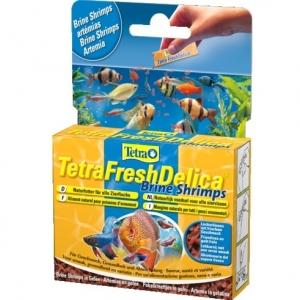 Tetra Tetra Fresh Delica Храна за тропически рибки с морски скариди в хранителен гел 48 гр.