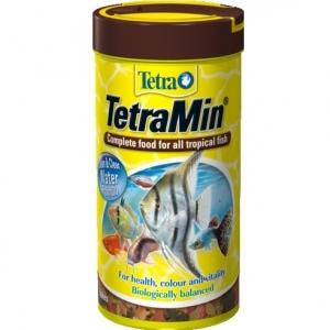 Tetra TetraMin Люспеста храна за всички декоративни тропически рибки 100 мл.