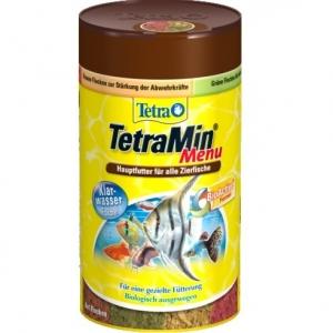 Tetra TetraMin Menu Храна от четири вида люспи за всички декоративни тропически рибки