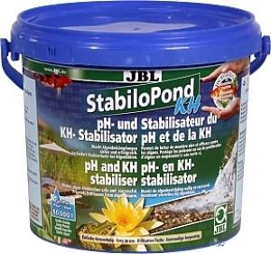JBL StabiloPond KH Стабилизатор за рН - балансира стойностите на рН в оптималните граници от7,5-8,5, - 250 gr.