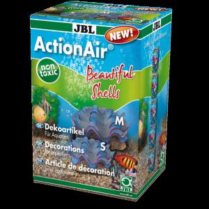 JBL ActionAir Beautiful Shells Декорация за аквариум с възможност за включване на помпичка за кислород - две отделни миди с перли 1