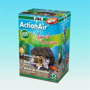 JBL ActionAir Spanish Treasure Декорация за аквариум с възможност за включване на помпичка за кислород - сандъче