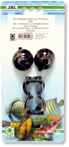 JBL 2 suction cups + 2 clips 23mm for ProTemp Вендузи с щипки