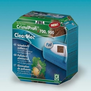 JBL ClearMec plus Pad CP e700/e900 Комплект за премахване на фосфати, нитрати и нитрити с гъба за СР е700/е900 500 мл.