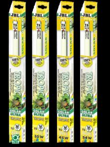 JBL Solar Tropic Ultra T5, 80W, 1450mm Слънчева светлина за растения - 4000K 1