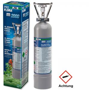 JBL ProFlora m2000 silver /CO2 bottle/ Професионална бутилка за многократна употреба - 2кg, по заявка