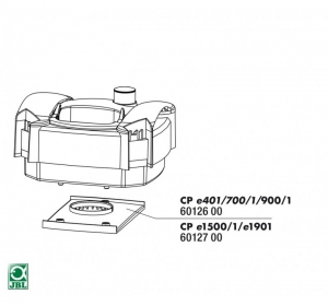 JBL CP e401bis e1500/1e1901 distributor plate Уплътнение СР е1501-1901