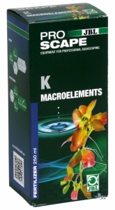 JBL ProScape K Macroelements 250ml Калий под формата на разтворими във водата калиеви соли - 250 мл.