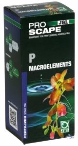 JBL ProScape P Macroelements 250ml Фосфор под формата на разтворими във водата фосфати с добавен калий