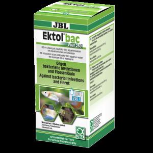 JBL Ektol bac Plus 250 Лекарство срещу бактериални инфекции от Aeromonas, Pseudomonas, Columnaris и др. - 200 мл.