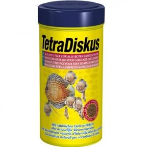 Tetra Discus Colour храна за червени дискуси с оцветители - гранулирана, 250 мл.
