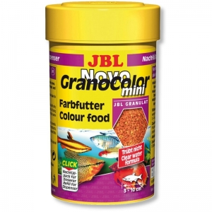 JBL NovoGranoColor mini Храна за малки рибки в общ аквариум - 100 мл.