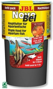 JBL NovoBel Пълнител - основна храна за всички декоративни рибки - 130 гр. 1