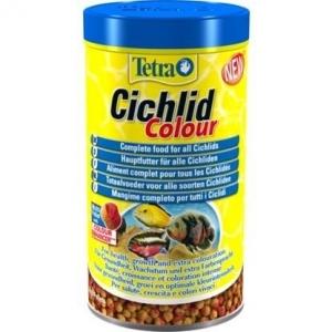 Tetra Храна за цихлиди - с оцветители, 500 мл.