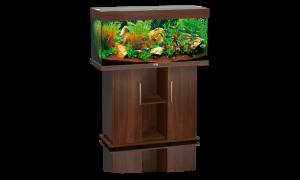 Juwel Rio 180 - аквариум с пълно оборудване, 101 / 41 / 50 см. 180 литра / черен, венге, бук, бял / 1