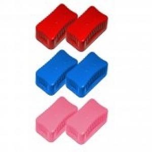 Croci Вълнисти магнитчета - 2 броя, червени, средни