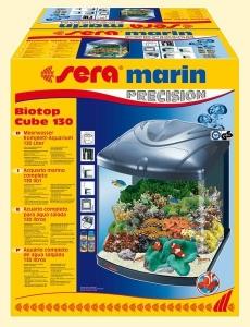 Sera Biotop Cube 130 XXL - аквариум с пълно оборудване, 130 л. 57 / 51 / 66.6 см.