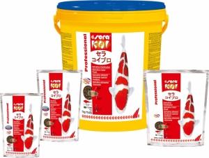 Sera Koi Professional Spirulina food Храна за контраст и оцветяване - 7 кг.