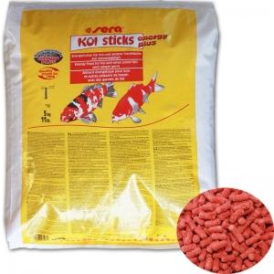 Sera Koi Sticks Energy Plus Храна за Кои и други езерни риби - 40 л.