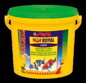 Sera Koi Royal Large Храна за млади кои и големи по размер езерни рибки - 3800 мл.