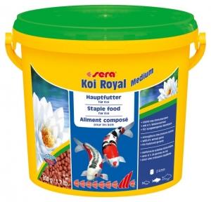 Sera Koi Royal Medium Храна за млади кои и средни по размер езерни рибки - 3800 мл.