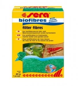 Sera Biofibres Coarse Филтърен пълнеж за пречистване на водата - 400 гр.