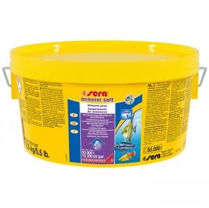 Sera Mineral Salt За безопасно обогатяване с минерали на ниско минерализирана вода - 2500 гр.