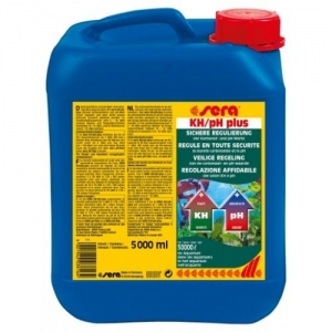 Sera KH/pH-plus Препарат за безопасно повишаване на карбонатната твърдост (kH) и pH на водата 5000 мл.