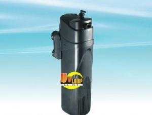 AquaZooLux Вътрешен филтър с UV JUP-02 - 500 л./час.