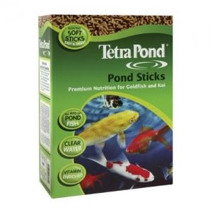 Tetra Pond Храна за Koi и всички видове езерни риби - Зелена кутия 1L 1