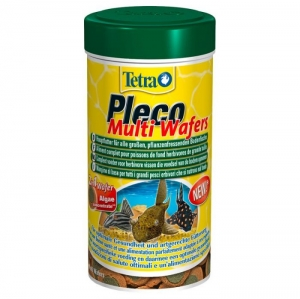 Tetra Pleco Multi Wafers Храна за дънни растителноядни риби - 250ml 1
