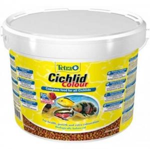 Tetra Cichlid Colour Храна за Цихлиди, Гранули - 10L 1