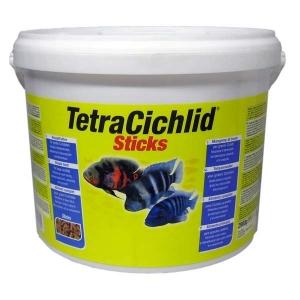 Tetra Cichlid Храна за Цихлиди, Пръчици - 10L 1