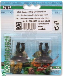 JBL - Suction cup w.clip (16mm), 2pcs - опаковка 2 бр. 1